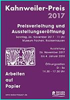 kahnweiler preis 2017